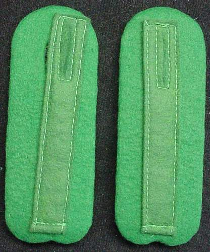 SD shoulder boards
