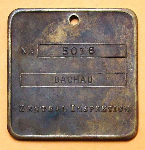 Dachau Disc for viewing.