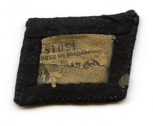 totenkopf collar tab real or fake?