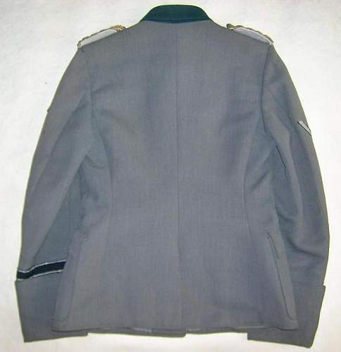 ss Lieutenant general uniform