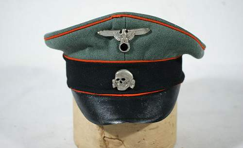 Oppinion on this SS Visor Cap Please