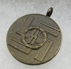 Miniature SS Eight Year Long Service Medal