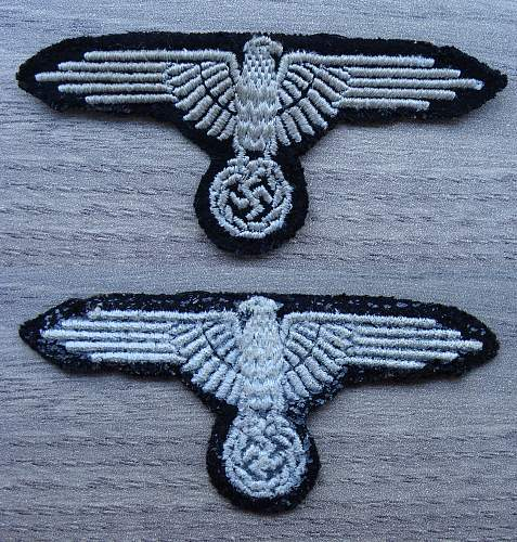 Reference for SS Sleeve Eagles (Please Share Yours)