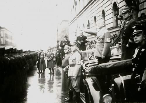 Allgemeine SS men in Berlin, 1936-1939