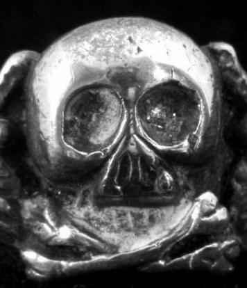 Original deaths  head ring