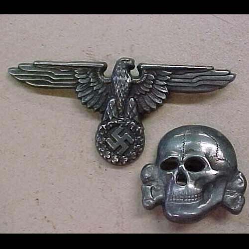 SS visor insignia review.....