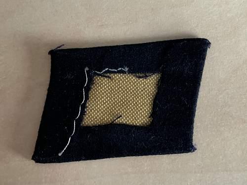 Dachau Totenkopf Collar tabs?