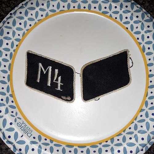 Motor Unit M4....tab set