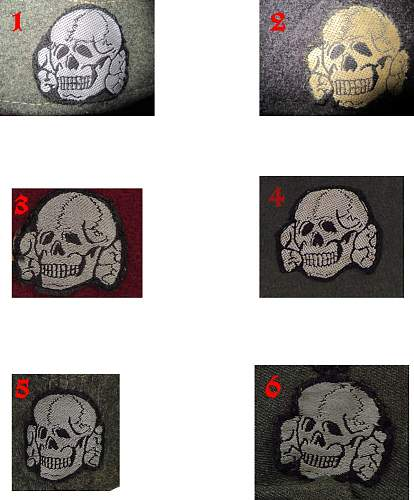 Just to Learn something about SS Cloth Skulls how to see if real or not