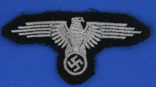 Waffen-SS sleeve-eagle ( ss-armelhoheitsabzeichen)