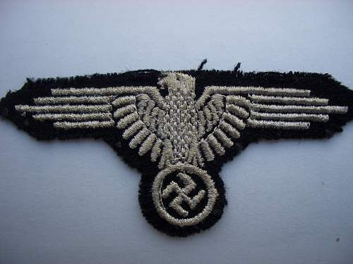 SS arm eagle: original  mid war?