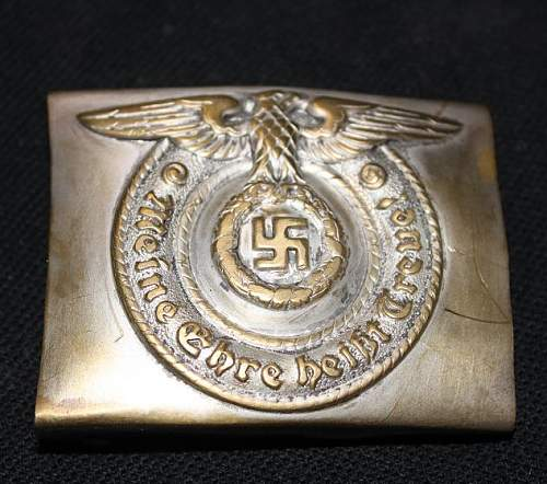 SS Buckle -what do you guys think?