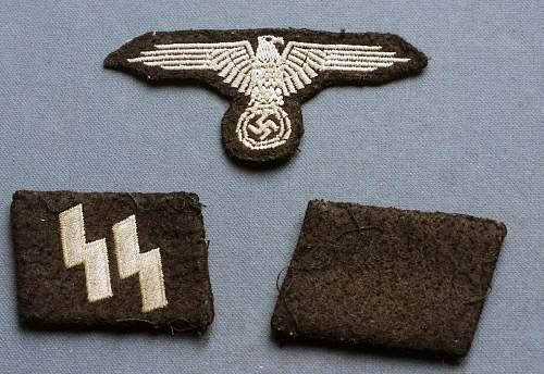 SS sleeve eagle an collars