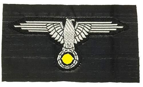 SS bevo sleeve eagle.