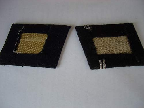 Totenkopf  EM collar tabs...