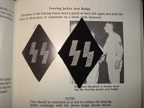 SS fencing diamond