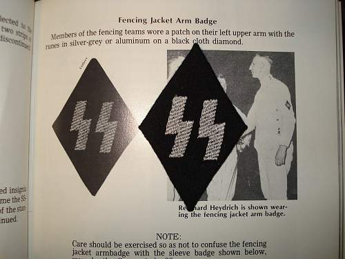 SS fencing diamond
