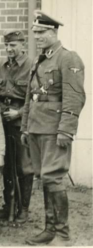 Closed-Collar Feldgrau A-SS Uniform