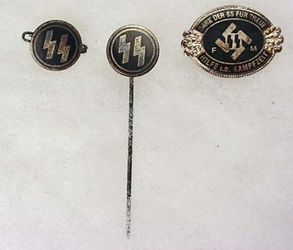 Some SS Pins  - any of these authentic?