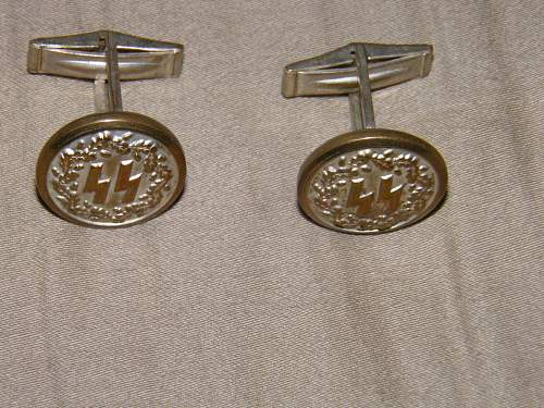 ss cufflinks. real or fake?