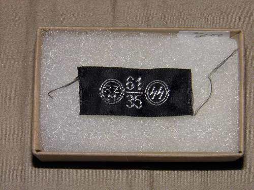 ss arm band label