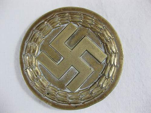 Help with SS table medal????