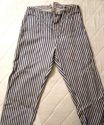 SS-Lazarett pajamas?
