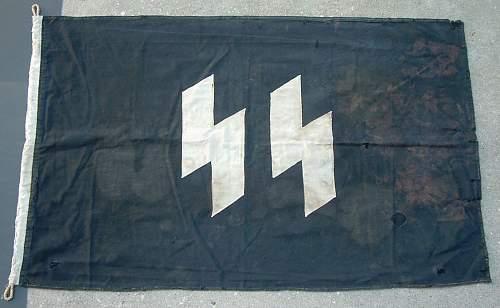 SS Barracks Flag