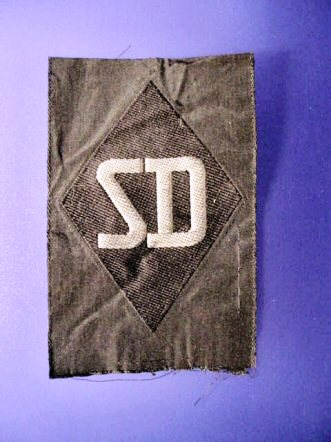SS SD sleeve patch