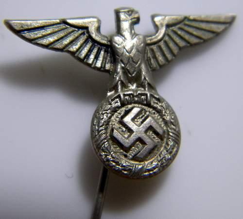 SS/SA eagle stickpin