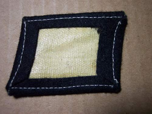 Totenkopf collar tab ..... repro or real .....when does this get any easier, lol !