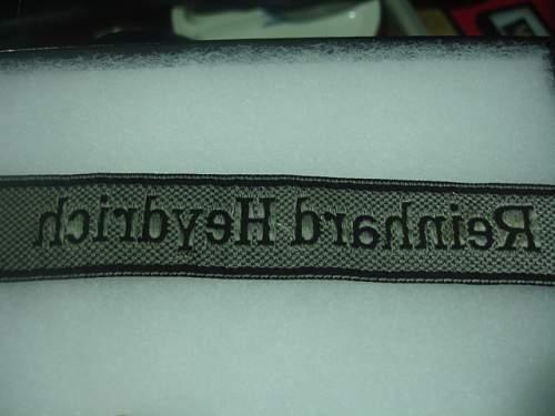 Heydrich Cuff title