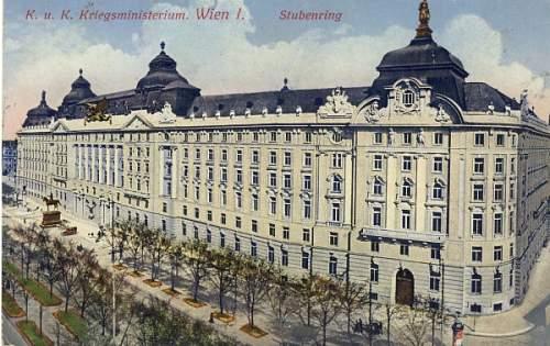 Click image for larger version.  Name:KK Kriegsministerium Wien.jpg Views:432 Size:124.2 KB ID:162350