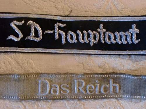 SD and Das Reich cuff tiles