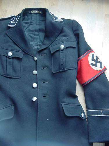ss vt officers tunic
