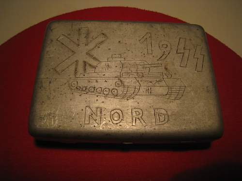 SS-Nord cigarrette case from Finland