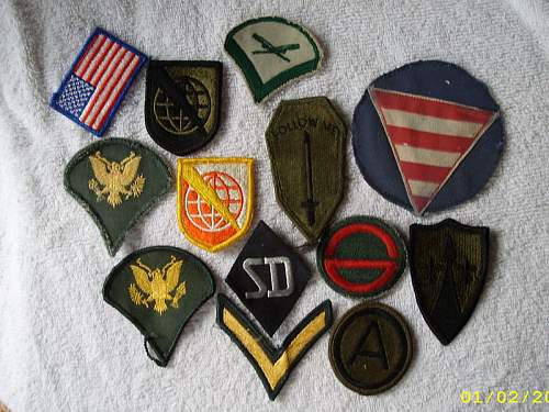 SD patch with US patches