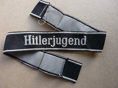 Hitlerjugend cufftitle