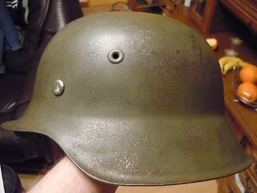 Stahlhelm M42 waffen-SS