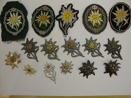 Edelweiss Patch