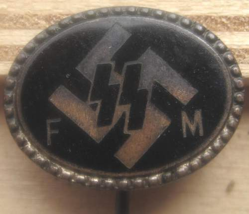 SS FM support stickpin