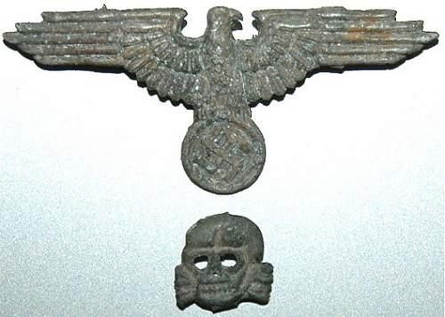 Eagle and Skull Estonian SS !!!