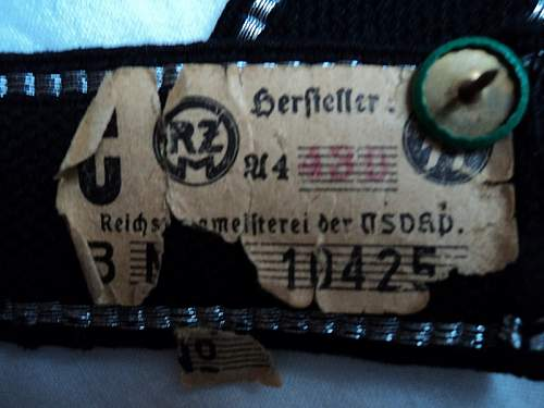 Hitlerjugend cuff title authentic?