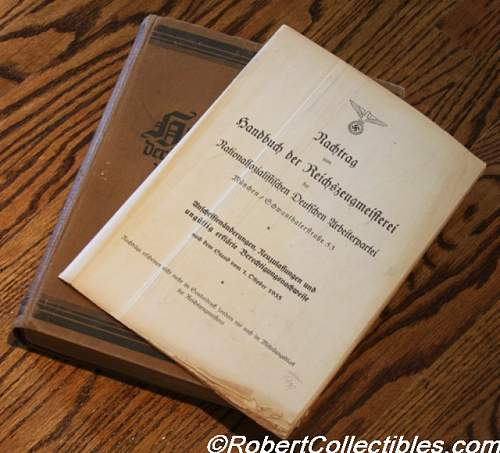 Roles and Missions of RZM d. NSDAP