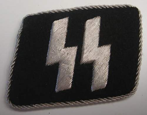 What do you guys think about these SS collar tabs?...