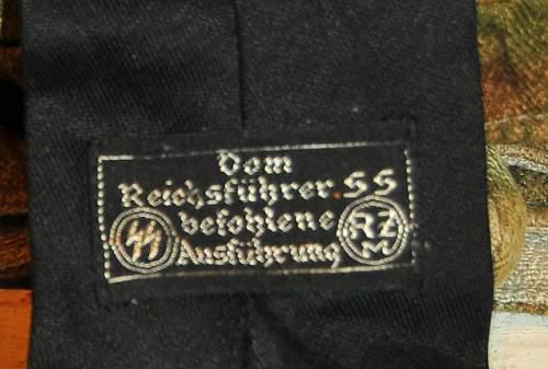 SS  black tie help!