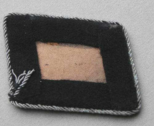 SS collar tabs for authentication please