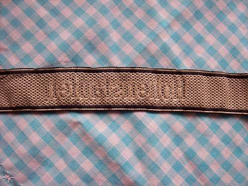 cuff title, real or fake