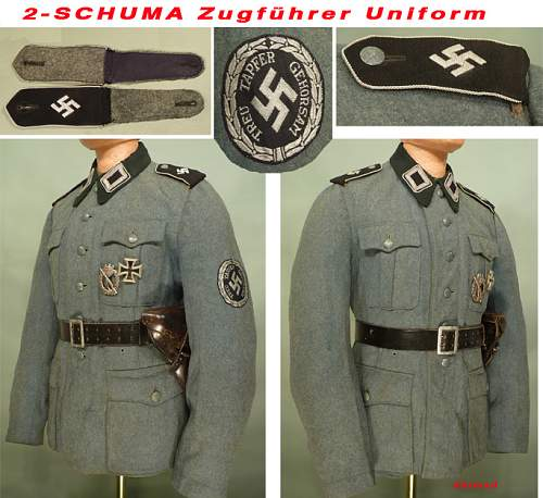 Schuma Cloth insignia , Uniforms, Schuma Items