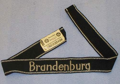 "Ss cuff title ""brandenburg"" real or fake"